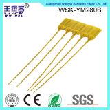 Joint jaune en plastique de récipient en plastique fortement 28cm de fabrication d'usine de joint de la Chine de la traction
