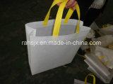 Máquina de cortar sacos de tecido não tecido automático