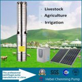 Energia eléctrica e bomba de água psta solar da cachoeira do combustível