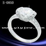 Anello dei monili dell'argento sterlina di alta qualità 925
