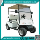 2シートElectric Golf Car Eg. 2029k、36V 3kw、DC Sepex Motor、Plastic BodyおよびPlastic Topの、Road Useを離れた、