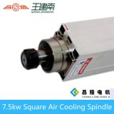 ER32 300Hz 18000rpm 7,5 kW de refrigeración por aire Square CNC del eje para un tallado en madera