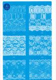 Laço largo ordinário para a roupa/vestuário/sapatas/saco/caso 3108 (largura: 7cm)
