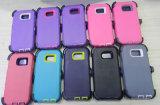 Samsung 은하 S6 가장자리를 위한 권총휴대 주머니를 가진 변호인 예 덮개