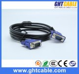 Maschio di alta qualità/cavo maschio 3+9 del VGA per il monitor/Projetor