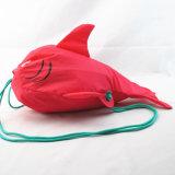 女の子の新型の鮫のドローストリングのリュックサック