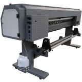 , Impressora de mesa Eco-Solvente 1,8 metros no interior e máquina de impressão ao ar livre com Dx5