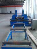 Reborde de la viga de H que endereza la máquina correcta por hidráulico