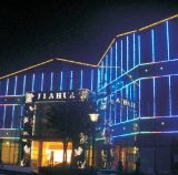LED-Media-Fassade, die lineares Gefäß Ce/UL/RoHS (L-224-S48-RGB, beleuchtet)