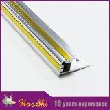 Testo fisso di alluminio delle mattonelle di profilo del metallo di taglio per la decorazione della cucina