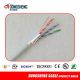 Cu CAT6 del AWG del cable de LAN 23