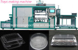 Máquina plástica automática de Thermoforming del vacío para las tapas plásticas de la taza de la bandeja