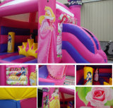 Castillo de salto animoso de la casa de princesa Inflatable Jumper Commercial Bounce