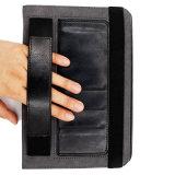 帯出登録者が付いている手の把握ブラケットのタブレットの電話革箱