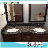 Integriertes Badezimmercountertop-Seiten-Spritzen-künstliches Material