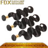 速い出荷の安い毛の拡張100%人間の毛髪のよこ糸