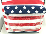 Good Quality及びCompetitive Price (GB#20081)の方法American Style Flag Pattern School Kid Backpack Travel Shopping Bag