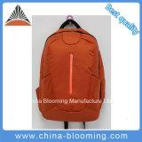 L'arancio di nylon multifunzionale dell'allievo dello zaino di sport mette in mostra il sacchetto di libro