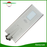 Солнечное Light 5 Years Warranty энергосберегающее Outdoor 60W СИД Integrated Solar Street Light с Bluetooth APP Control