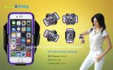 Brazal del eslabón giratorio con el caso - iPhone 6s más el caso (negro)