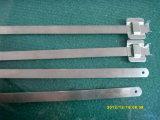 Fascetta ferma-cavo riutilizzabile economica dell'acciaio inossidabile