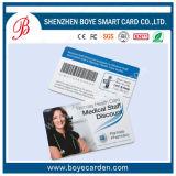 Impresión personalizada de plástico prepagado rasca la tarjeta
