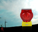 Kundenspezifisches blaue LED-warnende Barrikade-blinkendes Solarlicht