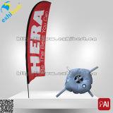 Bandierina e bandiera di pubblicità promozionali poco costose su ordinazione della piuma del Teardrop della spiaggia