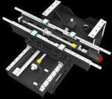 Produção do centro de máquina da trituração do CNC para a venda (EV1060L)