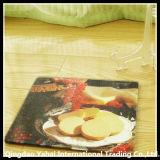tarjeta del corte del vidrio de 4m m Nashiji con el modelo de la etiqueta