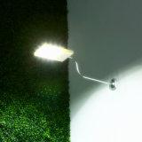 Openlucht LEIDENE van Wall Street van de Sensor van de Lamp van de Tuin Zonne Lichte 12 Uiterst dunne Waterdicht