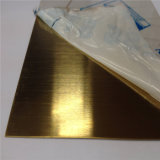 AISI 304 316 스테인리스 장 가는선 금관 악기 색깔 장식적인 장 4X8 크기 가격