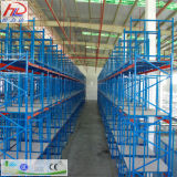 Verkaufende Hochleistungsladeplatten-Racking-Stahlspitzenzahnstange für Lager