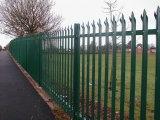 Панели загородки сада PVC быстро столба Coated