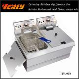 De hete Commerciële Elektrische Braadpan van de Verkoop, 17L de Elektrische Braadpan van de Desktop, 1 Tanks 2 Goedgekeurd Ce van Manden (hy-902)