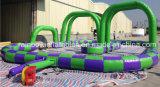2016 nuevos inflables diseñada al aire libre van pista de raza de Kart para la venta