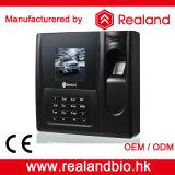 Realandの指紋のスマートカード記録読取装置のシステム時間の出席