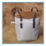 Sac enorme de tonne tissé par pp de saleté grand ou sac de sable