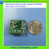 Nuevo movimiento tamaño pequeño de Doppler de la salida 3.3V de 19*18m m que detecta el módulo del sensor (HW-MD6)