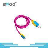 모든 이동 전화를 위한 도매 다채로운 고품질 USB 케이블
