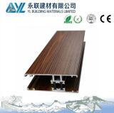 Perfil de alumínio da grão de madeira de 70 séries com certificados do ISO