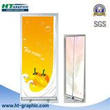 basamento di pubblicità dell'interno di alluminio della bandiera di 85cm*200cm
