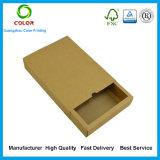 Cadre de papier d'attraction faite sur commande de Papier d'emballage Brown