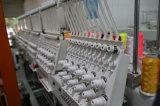 平らなTシャツの終了する衣服3Dの刺繍(WY906C/WY1206C)のための高速6ヘッド9か12カラー帽子の刺繍機械