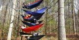 Im Freien bewegliches leichtes Nylonhängematten-Ideal für kampierendes Abenteuer oder Arbeitsweg