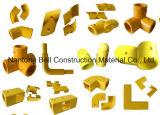 Conetor apropriado de FRP/GRP, encaixes de tubulação da fibra de vidro, conetores da tubulação