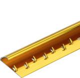 アルミニウムCarpetstripのカーペットの端のカーペットのバックルのフロアーリングのアクセサリの装飾のアクセサリ