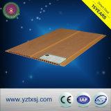 Panneau de plafond chaud de PVC de vente de couleur en bois pure