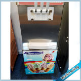 Vloer die de Bevroren Maker van het Roomijs van het Fruit van de Yoghurt bevindt zich