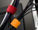 De kleurrijke Opnieuw te gebruiken Banden van de Kabel van de Klitband Hook&Loop voor de Lijnen van de Computer